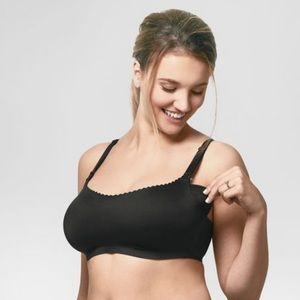 Bravado Designs Invisible Nursing Bra in Black